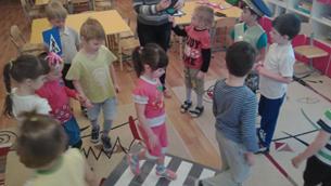 Дети-участники движения
